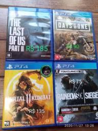 Jogos PS4 ( Novinhos )