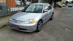 Honda Civic Lx 1.7 Automático 2001