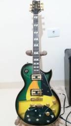 Vendo ou Troco Guitarra Golden Les Paul BR e Pedal MXR Phaser 45