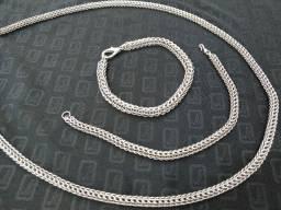 Cordões e Pulseiras em Aço Inox