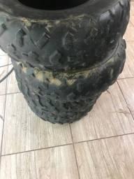4 pneus bons quadriciclo fortrax 420