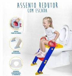 Redutor assento sanitário infantil escada