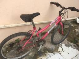 Vendo Bicicleta Rosa Média usada