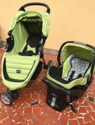 PROMOÇÃO caarinho e bebe conforto Britax travel system