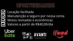 Locação de motos Joinville