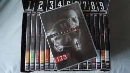 Box Arquivo X Coleção Completa 9 Temporadas 53 Dvds, original