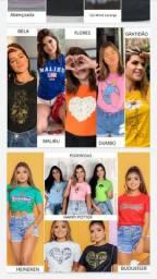 Tshirts com estampas variadas ??