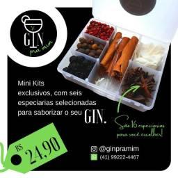 Mini kit de especiarias para GIN