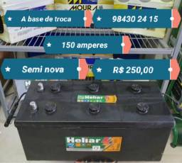 Bateria 150 amperes semi nova R$ 250,00