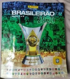 Album Campeonato brasileiro 2020 + 6 figurinhas