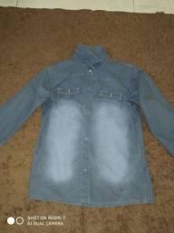 Vende-se jaqueta jeans juvenil