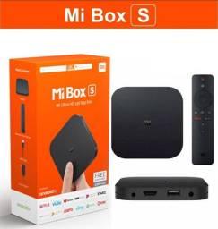 Xiaomi Mi Box S 4k - 300 Canais