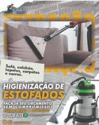 Higienização de Carros, Sofás e Colchões