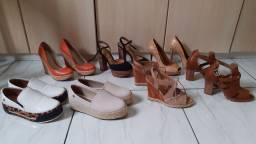 kit de sandálias novas