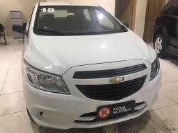 Chevrolet Onix Joy 1.0 Flex 2018 Branca Completa Para Trabalho ou Passeio!!!
