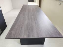 Mesa de Reunião - MDF 25mm - carvalho decape 2,50 x 0,90 Mt