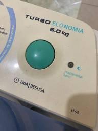 Título do anúncio: Máquina de Lavar Electrolux Turbo 6kg LT60