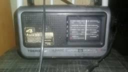 Rádio am e FM semp Toshiba perfeito.