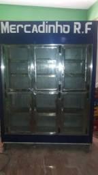 Expositor refrigerador de frios
