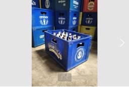 Grade de cerveja com os cascos