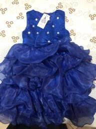 Vestido de festa menina Tamanho 3
