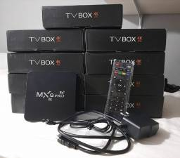 Conversor Smart Tv Box 4k para curtir seus filmes Netflix, Amazon entre outros...