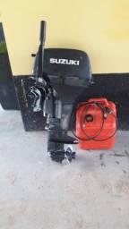 Título do anúncio: Motor suzuki 15 em ótimo estado