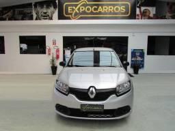 Título do anúncio: Renault Sandero Authentique 1.0 Flex  Ano 2019 - Financio