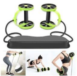 Título do anúncio: Aparelho RevoFlex Para Treino com 40 Exercícios, Rodas / Elásticos Malhar Fitness (a101)