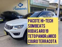 Título do anúncio: COMPASS 2018/2018 2.0 16V DIESEL LIMITED 4X4 AUTOMÁTICO