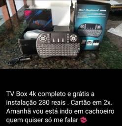 TV Box completo 280 reais