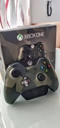 Controle Camuflado Xbox One