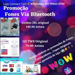 Fones Via Bluetooth Promoção