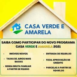 _W_Cadastre-se ->CASA VERDE E AMARELA| #Realize Seu Sonho Conosco!!