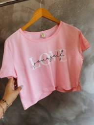 T-shirt e croppeds por 35,00