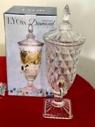 Linda Suqueira de Cristal 1,8L Diamond Transparente
