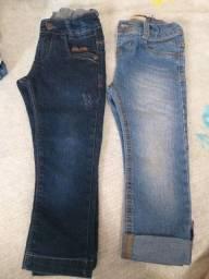 Título do anúncio: Calça jeans Tam 2 serve 3