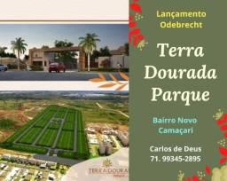 Odebrecht em Camaçari ,Mega Loteamento Terra Dourada Parque, total Infraestrutura