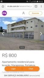 Apartamento aluguel Maraponga