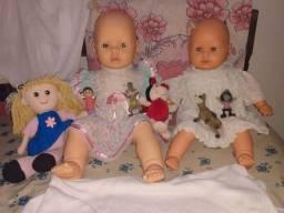 Coleção de bonecos - ESTRELA, SMURFS, MONSTROS S.A, SHREK ETC