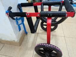 Cadeira de rodas para cachorro medio/grande porte