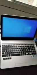 Notebook i7 8GB 250SSD