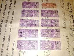 Título do anúncio: Selos Tesouro Nacional 1956