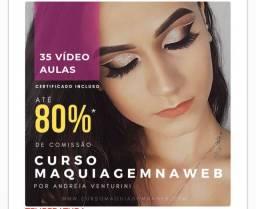 O melhor e o mais vendido curso de maquiagem do Brasil!