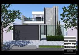 Sobrado com 3 dormitórios à venda, 133 m² por R$ 450.000 - Residencial Atlântico I - Ciano