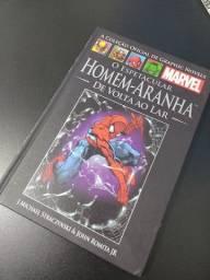 Livro homem aranha