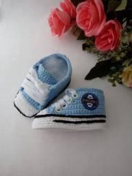Tênis de bebê Grêmio e Inter
