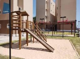 Título do anúncio: Apartamento com 2 dormitórios para alugar, 53 m² por R$ 1.200,00/mês - Centro - Eusébio/CE