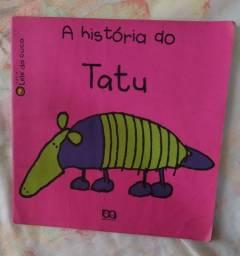 Livro infantil   A história do Tatu