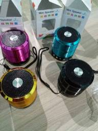 Caixinha Som Speaker entrada usb, bluetooh, Sd